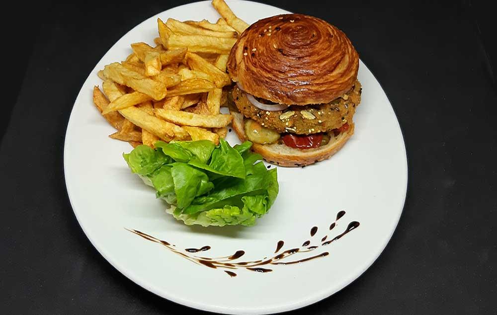 Burger Vegetarien PIzz Alté